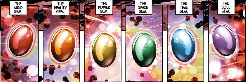 Trước khi mang tên gọi Infinity Gems thì chúng có tên là Soul Gems. Viên  Soul gem đầu tiên xuất hiện là cái ở trên trán của Adam Warlock, ...